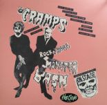 "LP ✦ THE CRAMPS ✦ ""Rock'n'Roll Monster Bash"" - For Cramps collectors!! Ltd.Ed!!!"